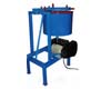 MIXER WITH HYDRAULIC HOPPER, ATTACHED HOIST